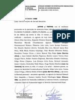 Juzgado Supremo de Investigación Preparatoria - Resolución caso Fujimori