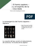 El Homo Sapiens y El Don Antropoconsumo