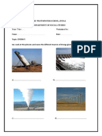 Worksheet - Energy