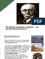 Lutyens 's Architecture