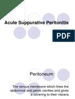 15703594 Acute Suppurative Peritonitis