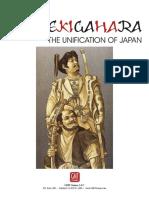 Sekigahara Rules 2016