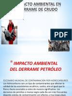 Impacto Ambiental Del Derrame Petróleo