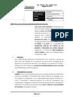 Improcedenia de Accion Penal y concluir en criterio de oprotunidad