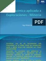 Geoquímica Aplicada a Exploraciones - Minería _Clase 1
