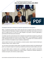 27-08-2018 Héctor Astudillo fija postura de gobernadores priistas ante AMLO.
