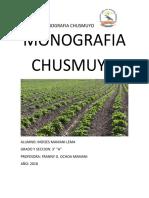 MONOGRAFIA CHUSMUYO