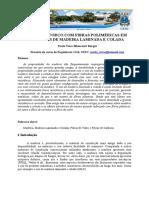 Reforço de Fibras Polimericas Em MLC 3