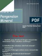 Pengenalan Mineral