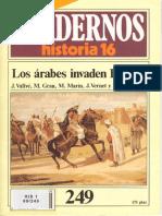 Cuadernos de Historia 16 249 Los Arabes Invaden Espania