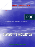 Sismos y Evacuacion