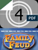 Family Feud 2016 Score Board