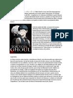 Mi Libro Sobre Tokyo Ghoul,