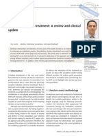 Elective Root Canal Treatment a Review and Clinical Update