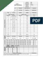 3.1B Material Certificate