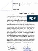 Sentencia que anula el indulto humanitario otorgado a Fujimori