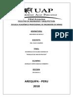 Facultad de Ingenierías y Arquitectura Caratula