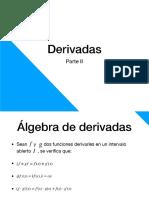 Derivadas II