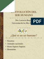 Presentació Evolució Humana