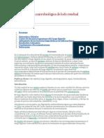 Caracterización Microbiológica de Lodo Residual