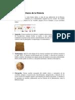 Ciencias Auxiliares de La Historia Con Imagen