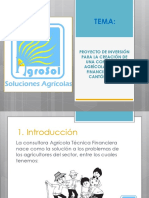 AGROSOL PROYECTO