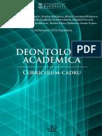Deontologie Academica Curriculum Cadru