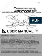 Manual Syma x25 Pro