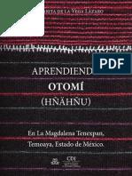 Aprendiendo Otomi Temoaya Estado de Mexico Web