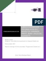 CU00527F ejercicios resueltos programacion c printf scanf calculos.pdf