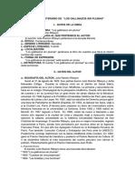 Updocs.net Analisis Literario Los Gallinazos Sin Plumasdocx