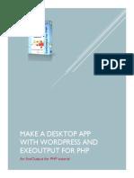 Make a Desktop App With Wordpress