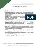 Modelo de projeto UNISINOS