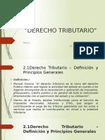 DERECHO TRIBUTARIO TEMA 2 Derecho Tributario.pptx