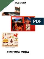 Cultura Caratulas de China Grecia Roma India
