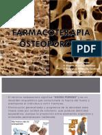 Farmacoterapia Osteoporosis