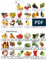 Fruits and Vegetables Picture Dictionaries 39483