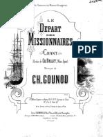 Depart Des Missionnaires