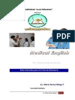 Modulo Ingles II Enfermería Uap