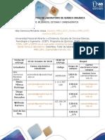 Formato Informe 3 Grupo 100416 _171 - Química Orgánica