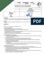 Hydo Test Procedure