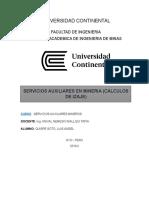Calculo de Izaje Informe