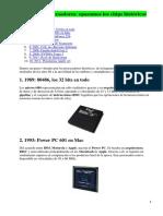 25 Años de Procesadores