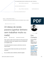 22 Ideias de Renda Passiva (Ganhar Dinheiro Sem Trabalhar Muito Ou Nada) – Nomadan.org