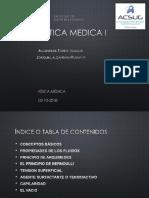 HIDROSTATICA MEDICA I