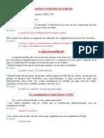 Expansion Et Réduction de La Phrase