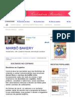 DOCINHOS NO COPINHO - Culinária-Receitas - Mauro Rebelo