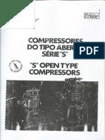 Refrigeração Industrial - Compressores Tipo S Aberto