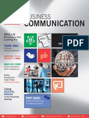 M_ Business Communication - Kathryn Rentz pdf | Résumé