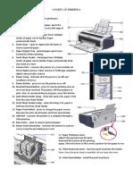 Parts of Printer